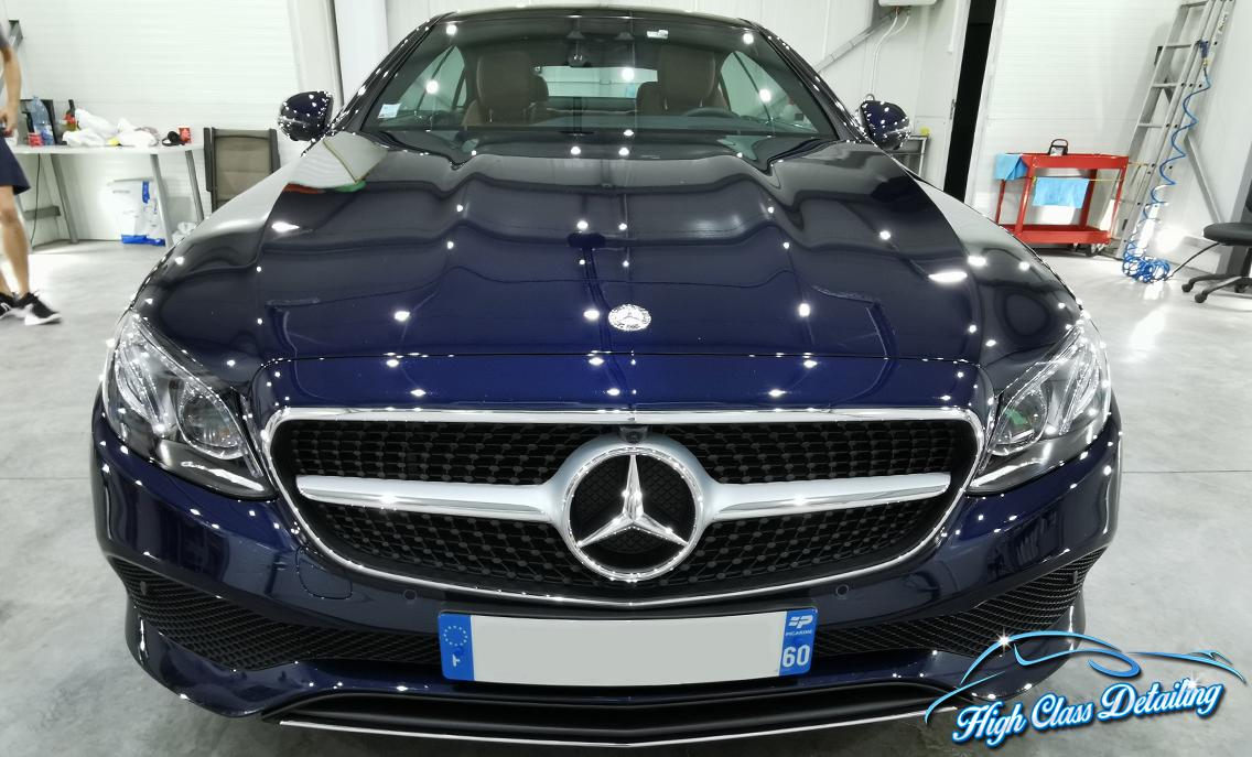 Portofoliu detailing Mercedes E Class Coupe